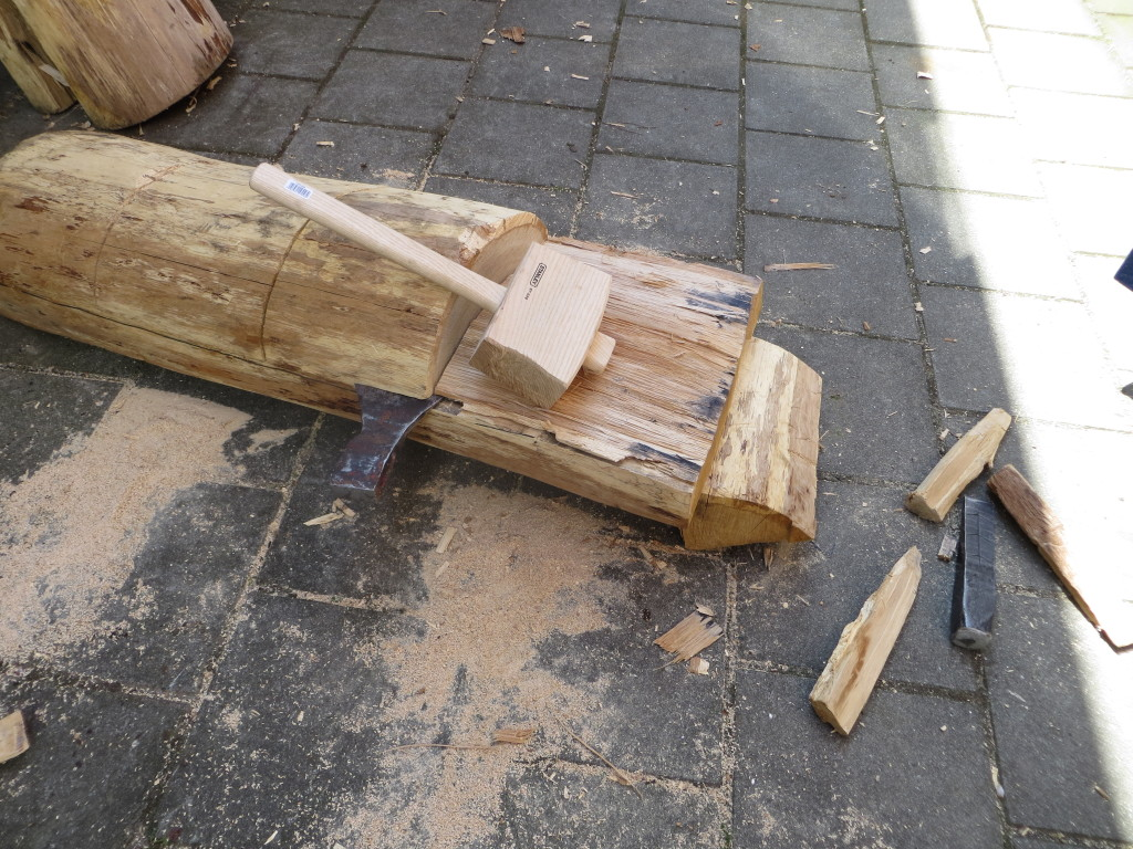 Splitting plank