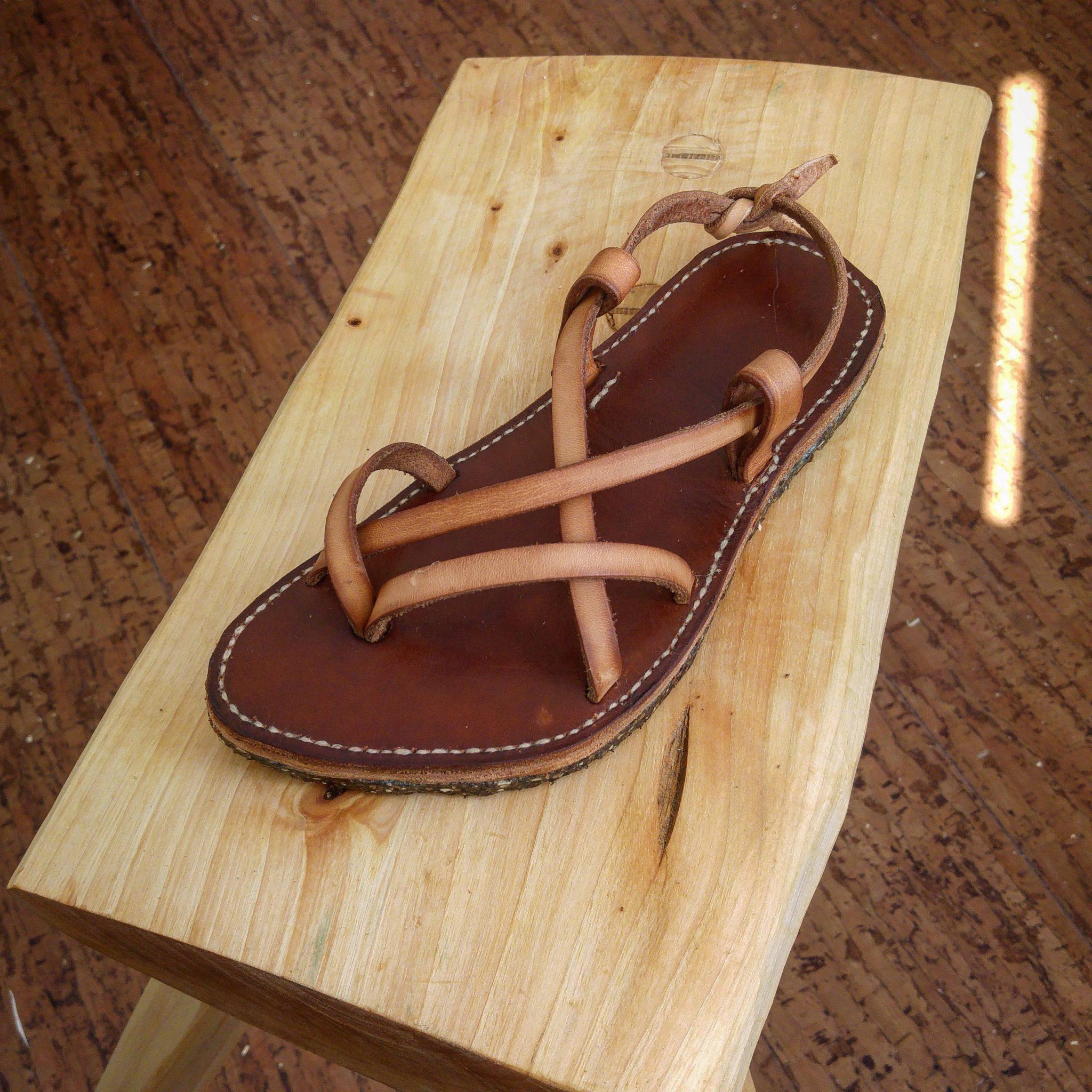 Custom leather sandals | Livius Crafts